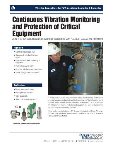 4-20 mA Vibration Monitoring Equipment