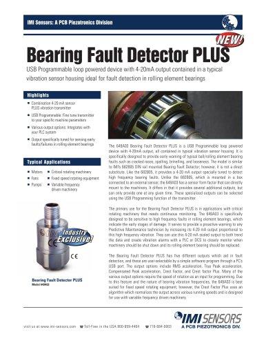Bearing Fault Detector PLUS
