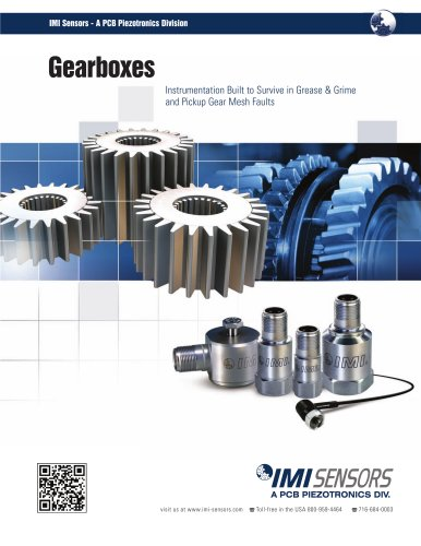 IMI Sensors - Gearboxes