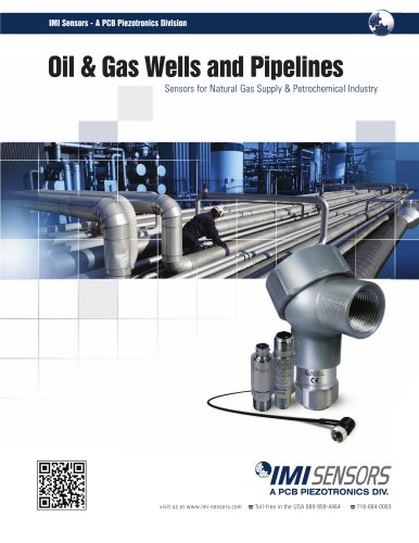 IMI Sensors - Oil & Gas Wells and Pipelines
