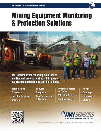 Mining Equipment Monitoring & Protection Solutions
