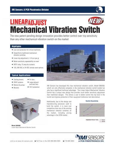 Model 685A09 - Linear Adjust Mechanical Vibration Switch