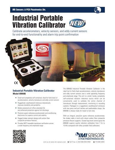 Portable Industrial Vibration Calibrator