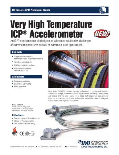 Series EX600B1X Very High Temp ICP® Accelerometer