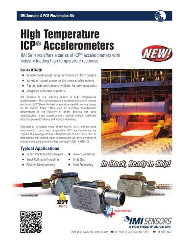 Series HT602D High Temp ICP® Accelerometers