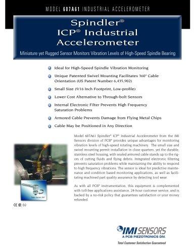 Spindler® ICP® Industrial Accelerometer