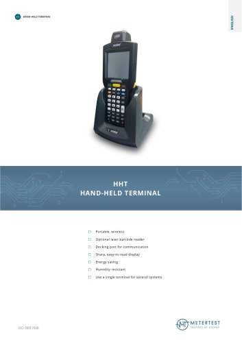 HHT HAND-HELD TERMINAL