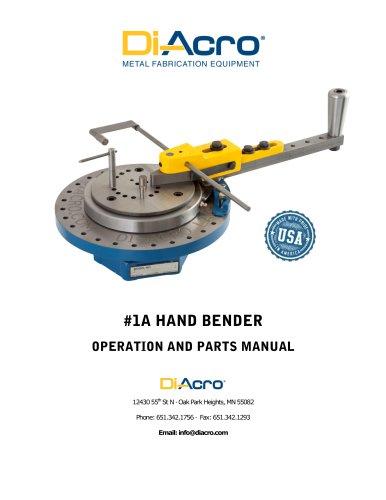 Model 1A Bender