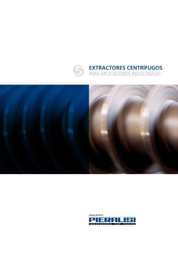 Extractores centrífugos para aplicaciones industriales