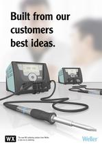 The new WX soldering stations from Weller.