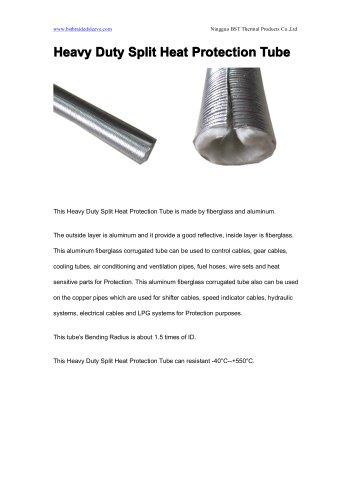 BSTFLEX Heavy Duty Split Heat Protection Tube