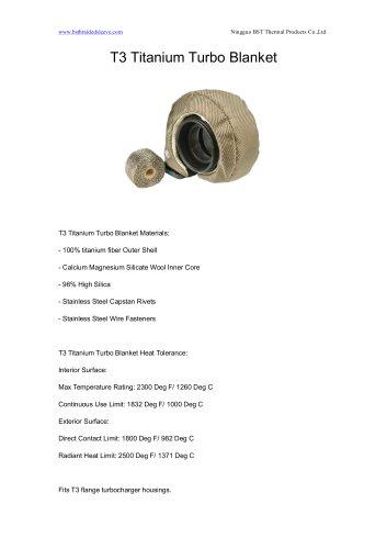 BSTFLEX T3 Titanium Turbo Blanket