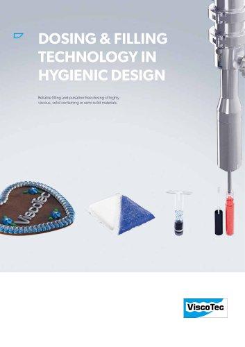 Dosing & Filling Technology in Hygienic Design