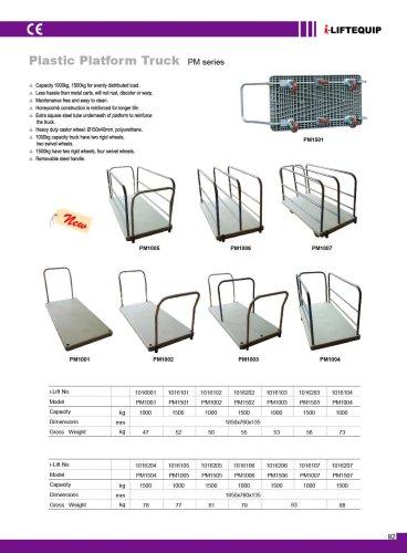 i-Lift/Hu-Lift Plastic Platform Truck PM
