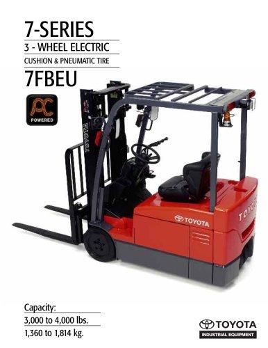 7-Series Electric 3-Wheel Cushion & Pneumatic