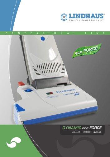 Dynamic eco FORCE 300e – 380e – 450e Multifunction dual motor upright vacuum