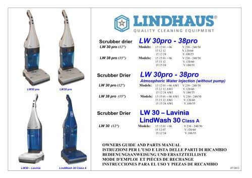 LW30 Scrubber Drier