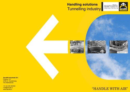 Concrete industry brochure Aerolift