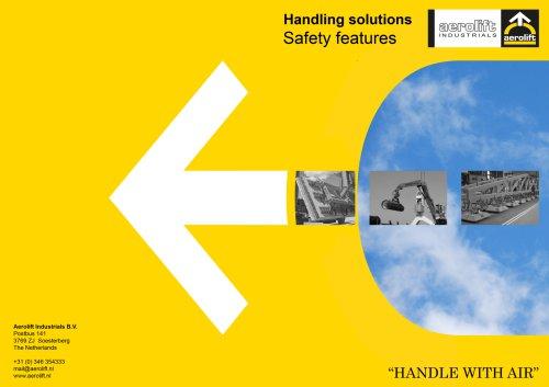 Safety features brochure Aerolift