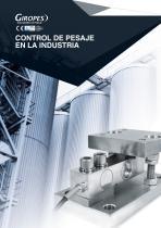 Control de pesaje en la industria