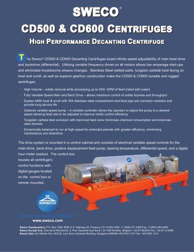 High Performance Decanting Centrifuge