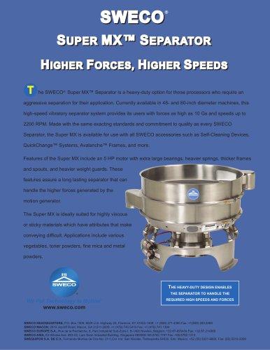 Round Separators Super MX Brochure