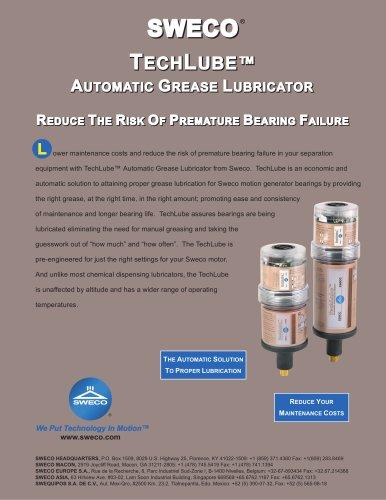 Sweco TechLube Atomatic Grease Lubricator