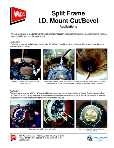 I.D. Mount Cut/Bevel