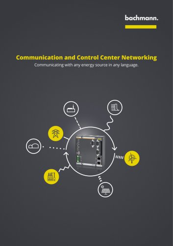 Communication and Control Center Networking