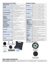 DT-205LR (LCD) Combinación de contacto/sin contacto láser Tacómetros - 2