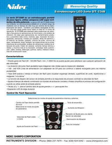 DT-326B Estroboscopio LED portátil