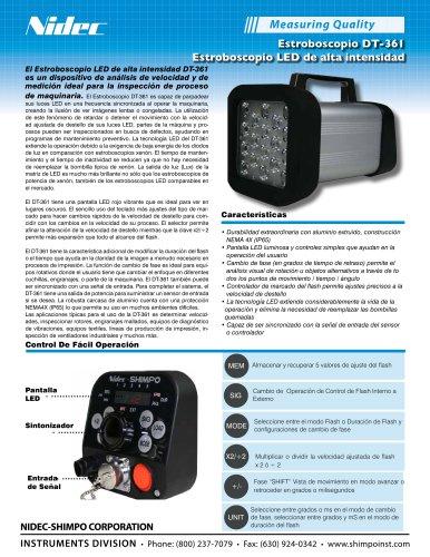 DT-361 Estroboscopio LED de alta intensidad