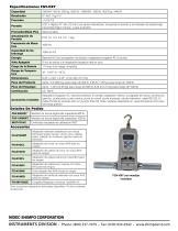 FGV-HXY Digital Medidor de Fuerza - 2