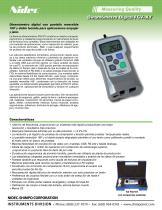 FGV-XY Digital Medidor de Fuerza - 1
