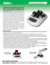 Medidor de torque digital TNP - 1