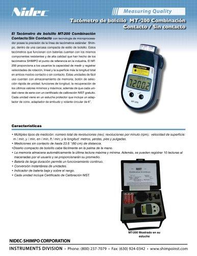 MT-200 Combinación Contacto/Sin Contacto