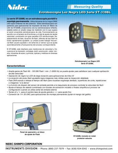 ST-320BL Estroboscopio Luz Negra LED Serie