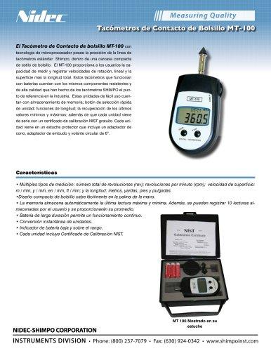 Tacómetro de Contacto MT-100