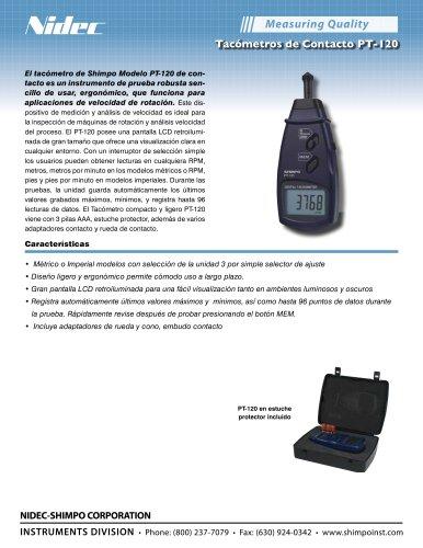Tacómetros de Contacto PT-120