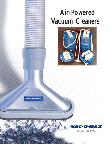 Air-Powered Vacuum Cleaners