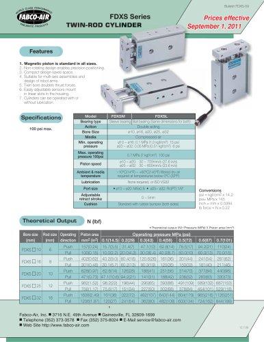 FDXS Twin Rod Catalog
