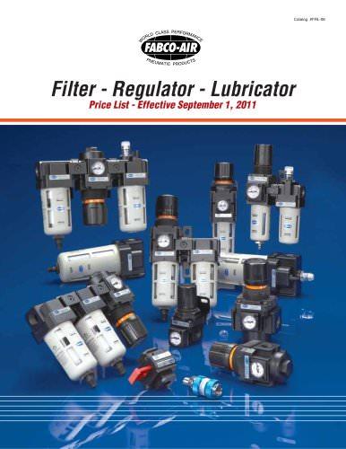 Filter- Regulator - Lubricators Catalog