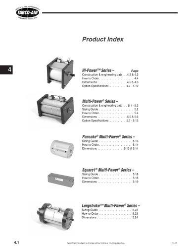 Hi-Power Cylinder section of CV9