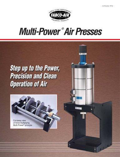 Multi-Power ® Air Presses