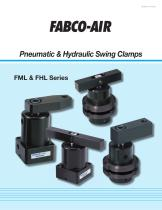Pneumatic & Hydraulic Swing Clamps FML & FHL Series