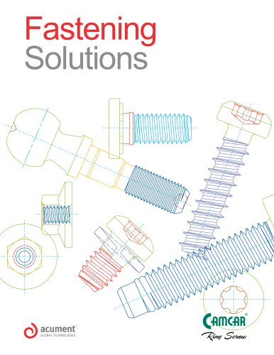 Camcar Fastening Solutions Catalogue