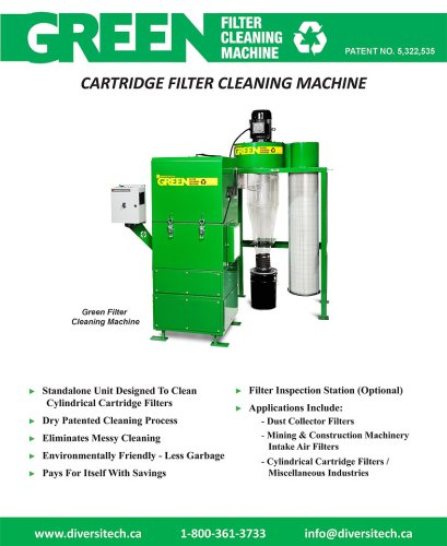 Filter Cleaning Machine Brochure