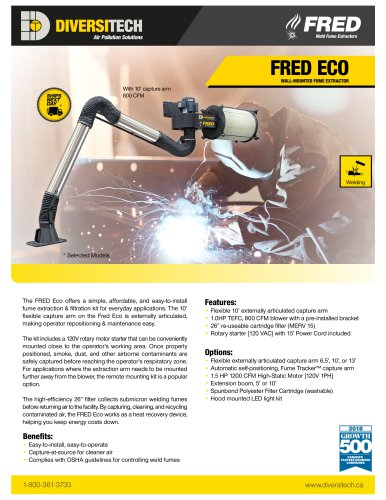 Fred Eco Brochure