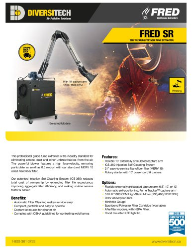 Fred SR Self-Cleaning Extractor