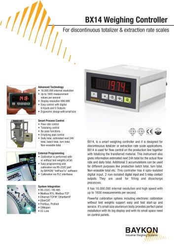 Baykon BX14 Weighing Controller